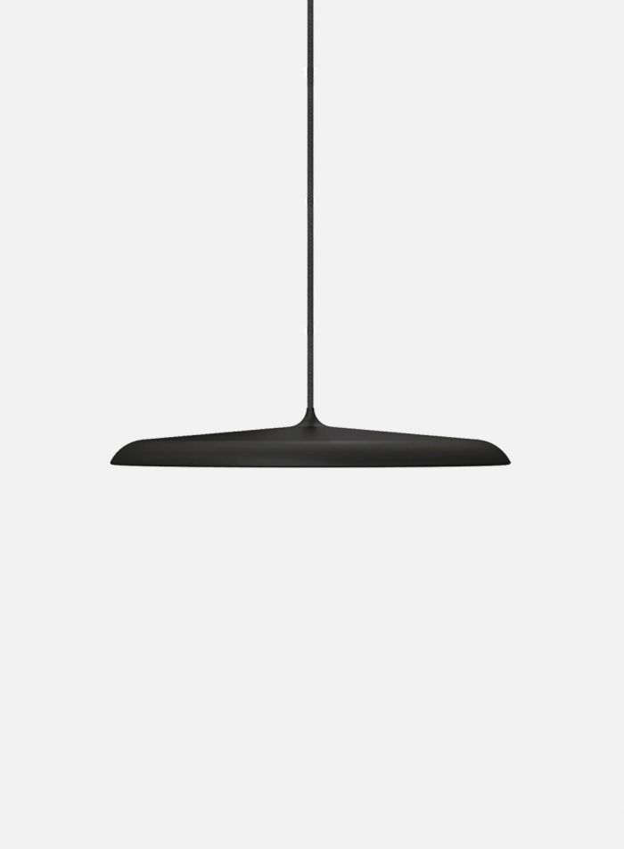 Artist taklampe Ø40 - sort