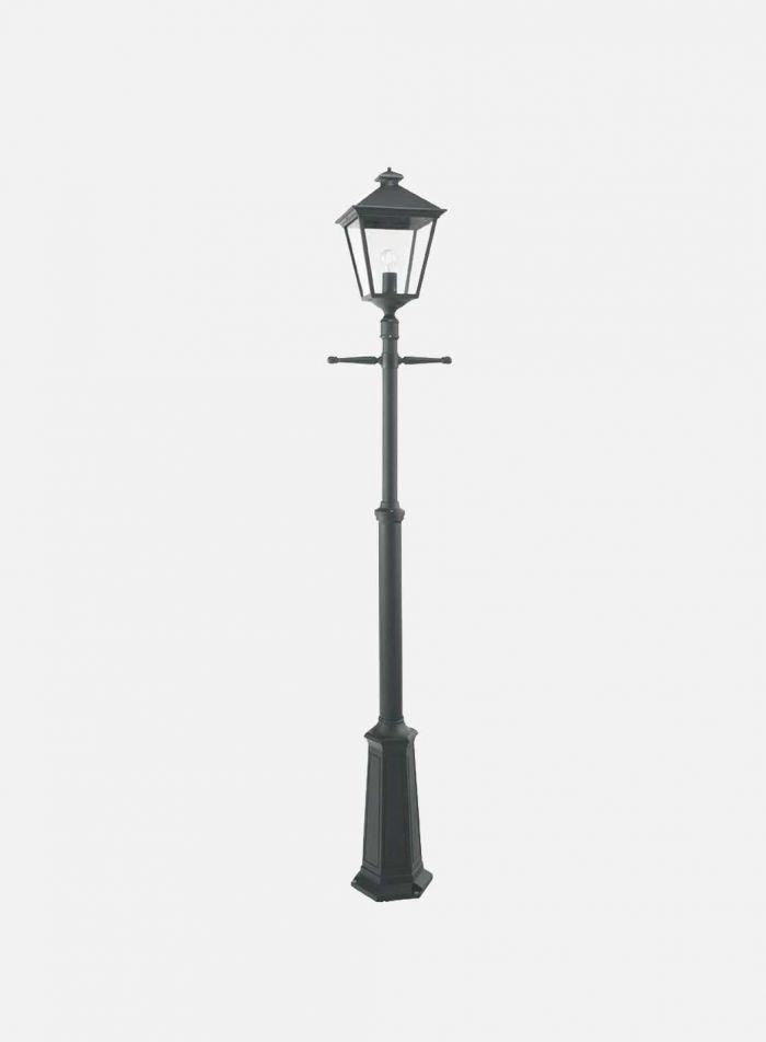 London 491 utelampe - sort