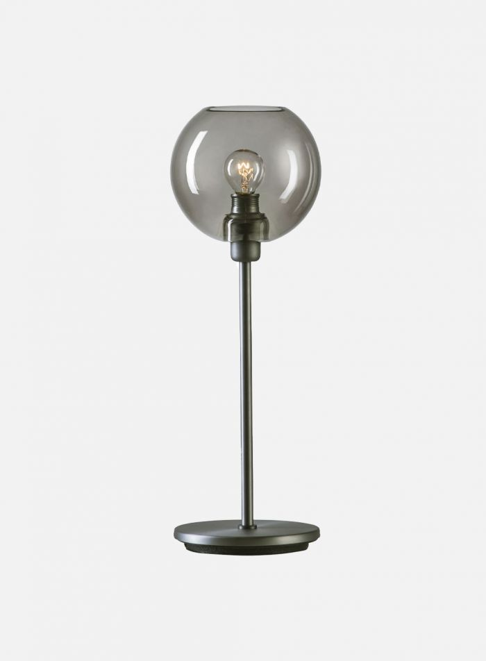Gloria bordlampe - oxidgrå/røk