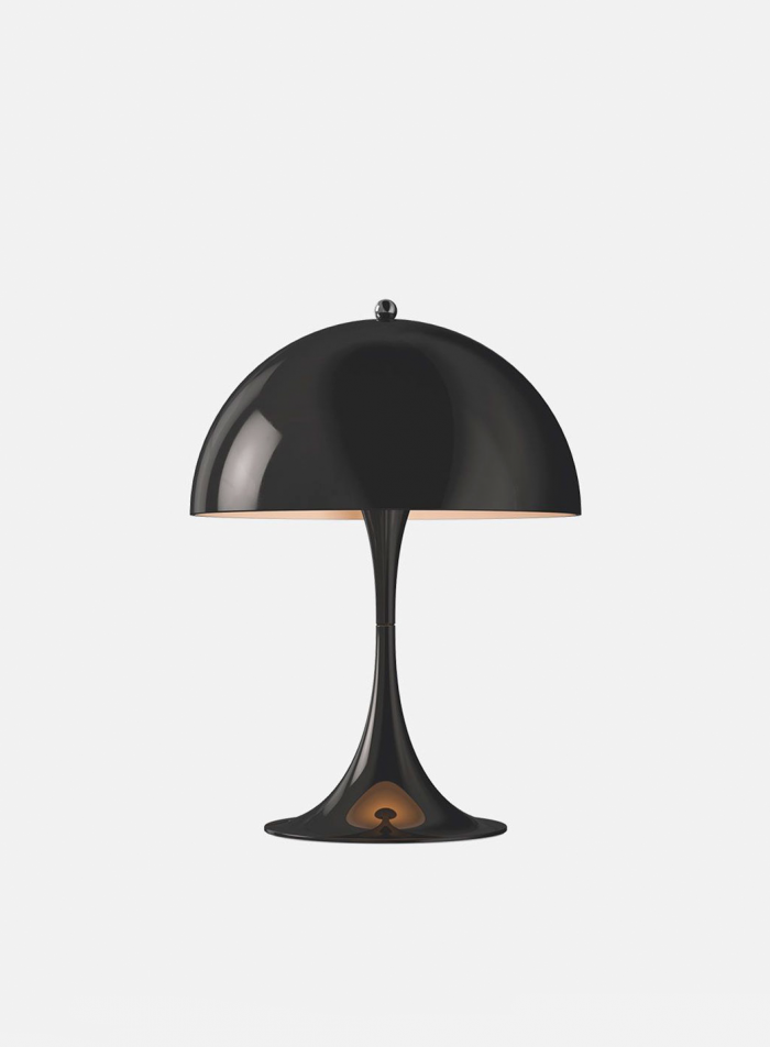 Panthella mini bordlampe - sort