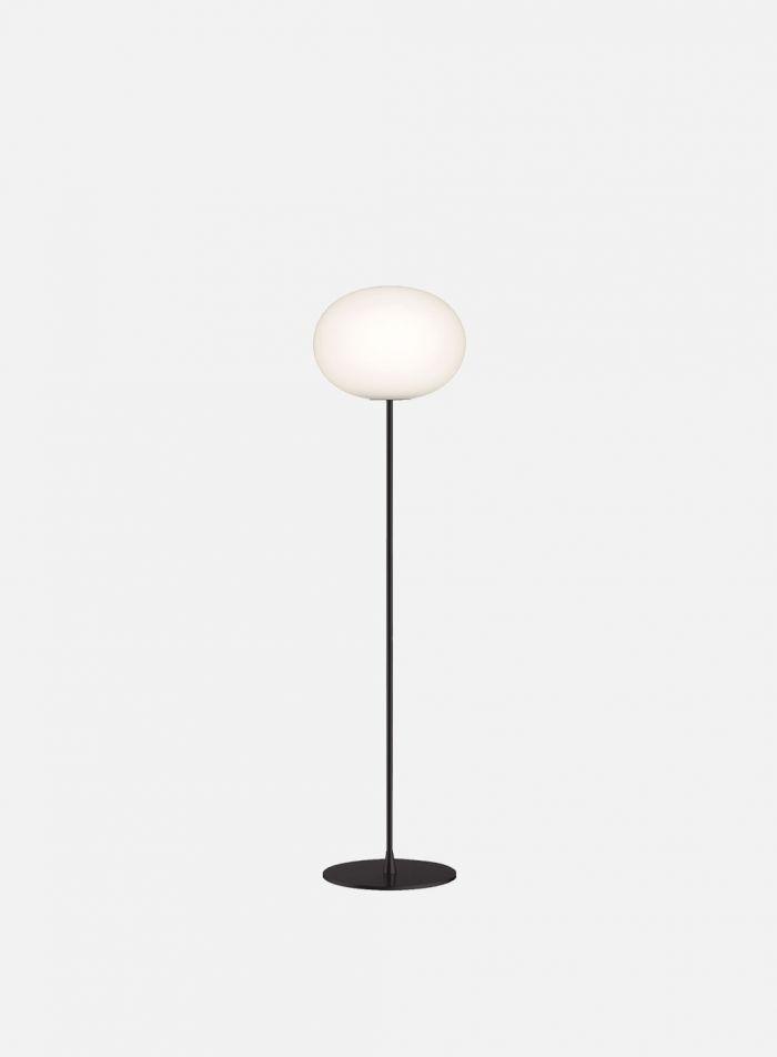 Glo-Ball F2 gulvlampe - sort