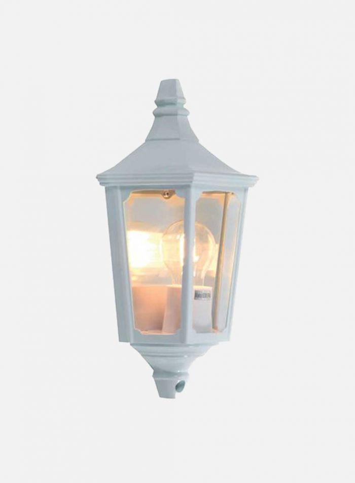 Lysekil utelampe - hvit