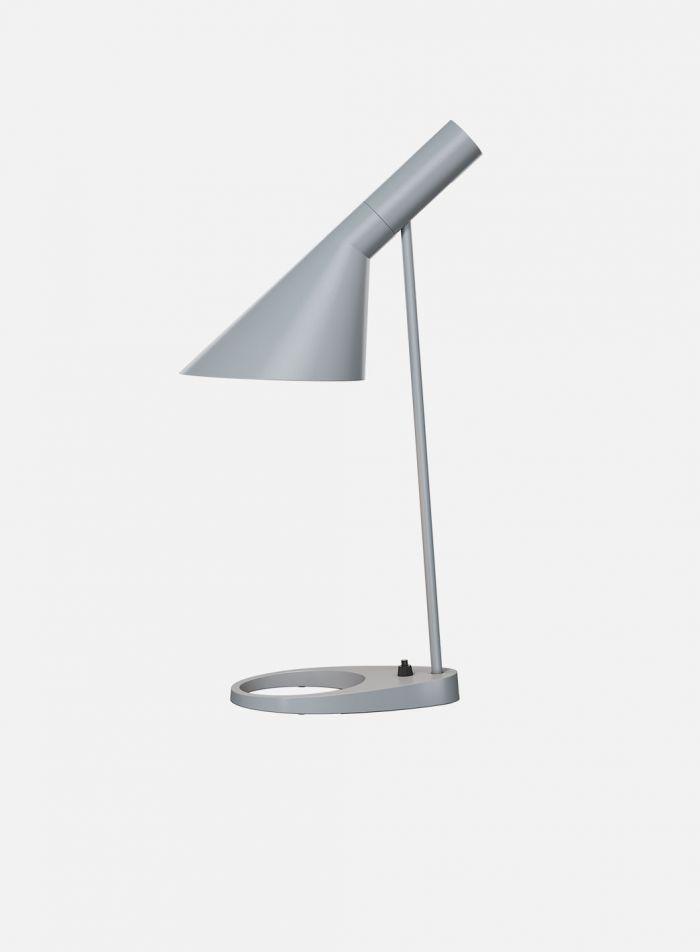 AJ bordlampe - lys grå