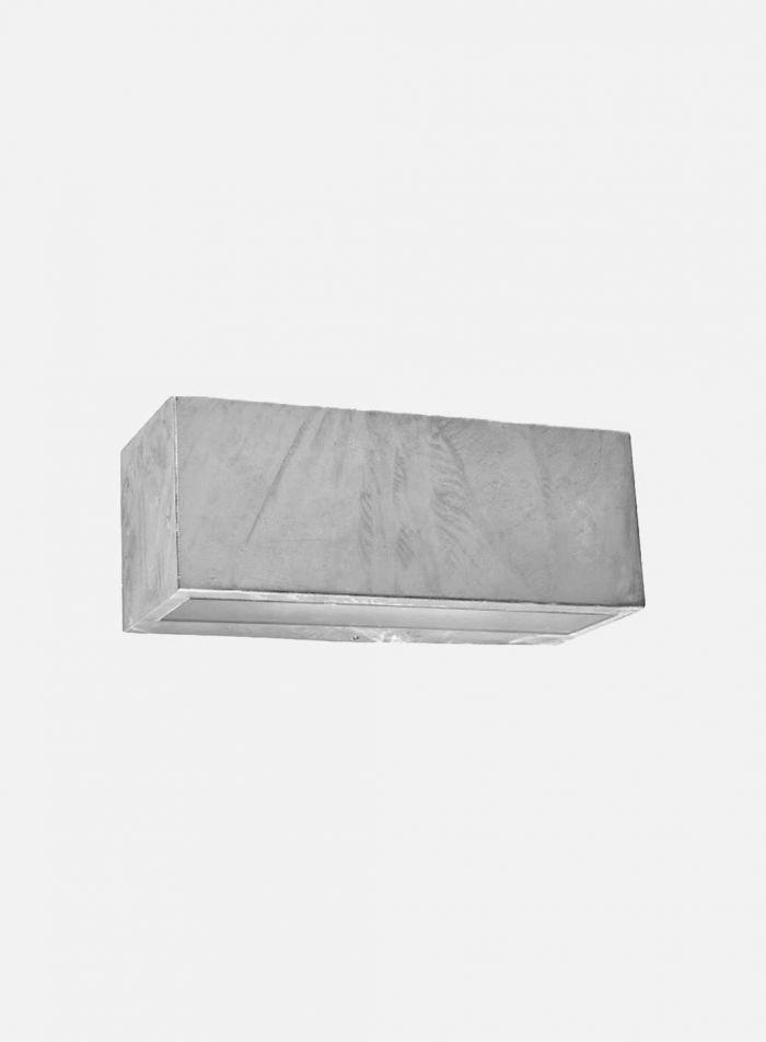 Asker 1702 utelampe - galvanisert