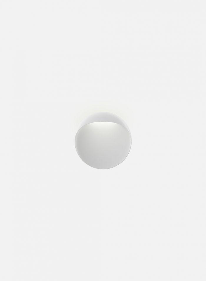 Flindt utelampe Ø20 cm - hvit