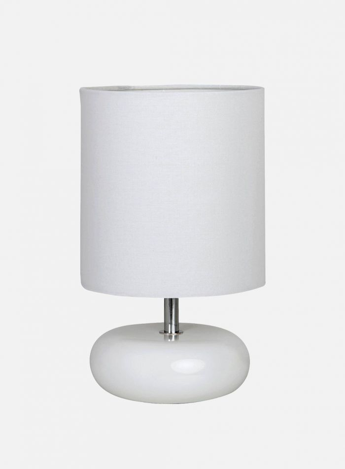 Emma bordlampe - hvit