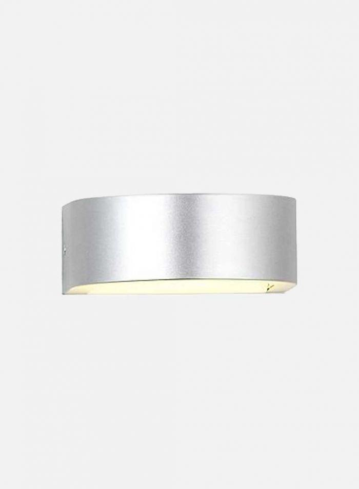Holme utelampe - sølv