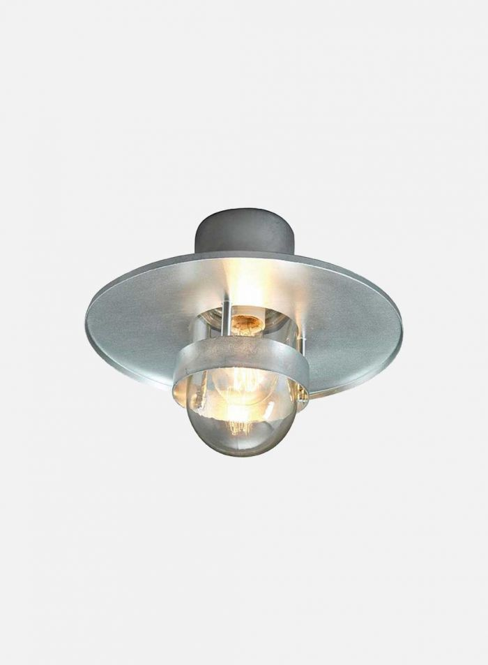 Bergen 271 utelampe - galvanisert stål