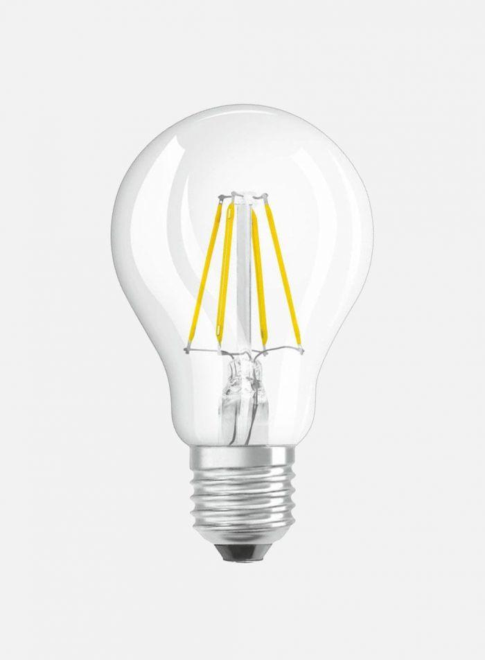 LED-sensorpære Normalfasong E27 4,2W