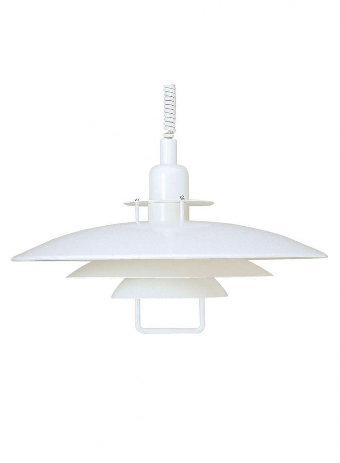 Primus II taklampe - matt hvit