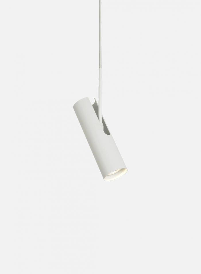 Mib 6 taklampe - hvit