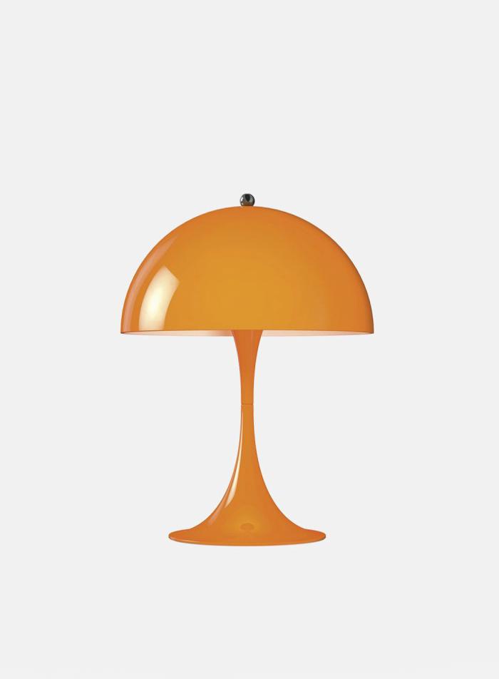 Panthella mini bordlampe - orange